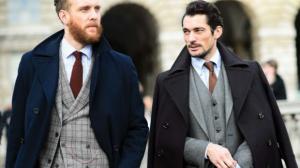 mature men in suits