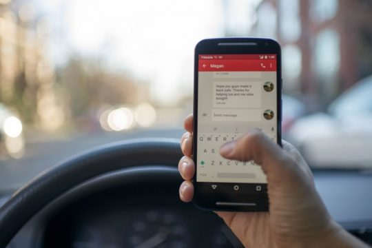 Distracted Driving: It's As Bad As Drinking