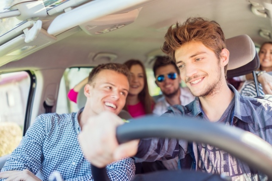 Letting Your Teen Drive During Family Trips