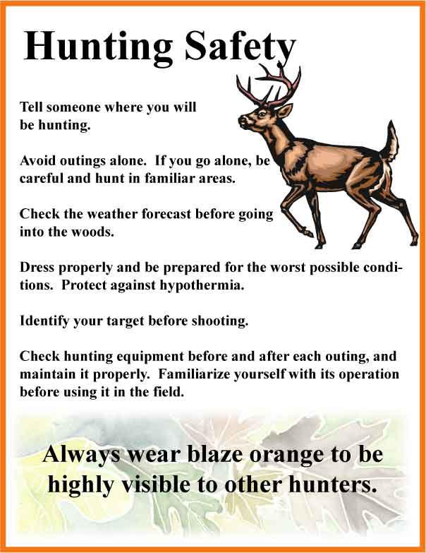 Deer Hunting Safety Tips